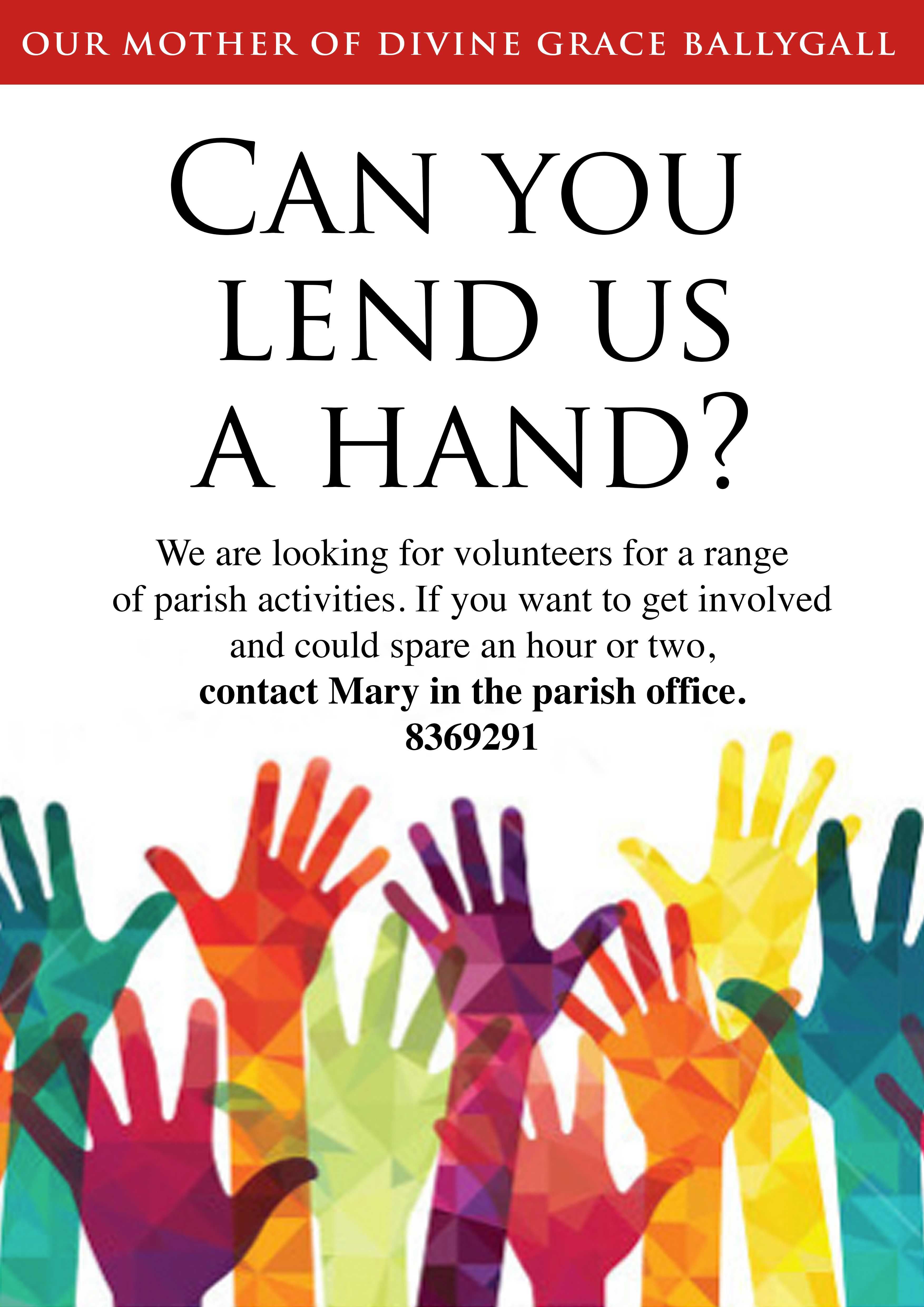 lend a hand poster models